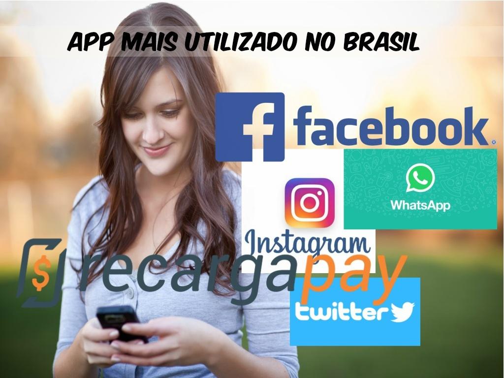 App mais utilizado no Brasil