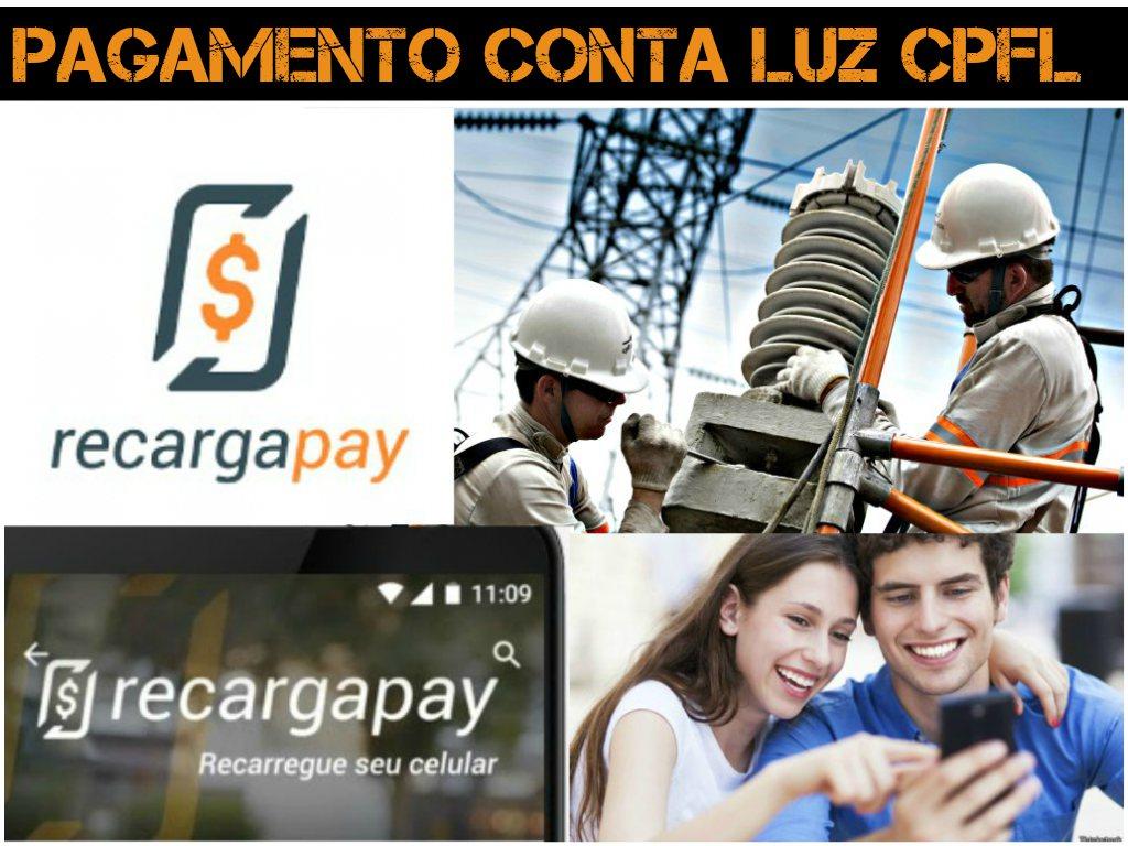 pagamento conta luz cpfl recargapay
