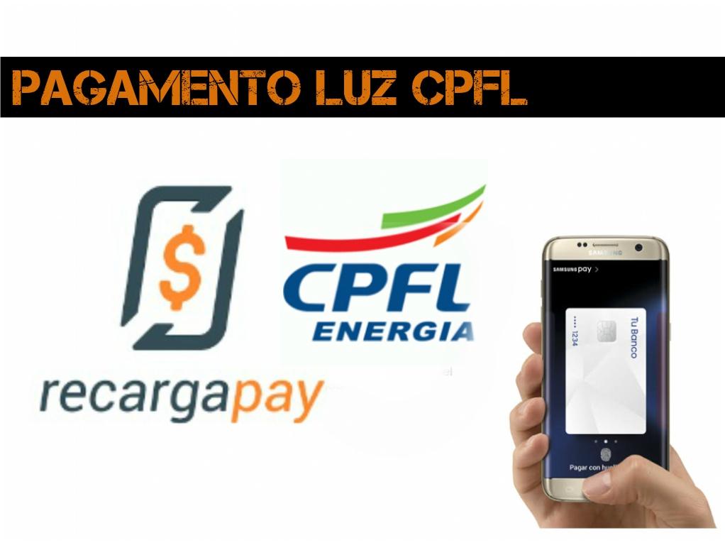 CPFL recargapay luz Pagamento