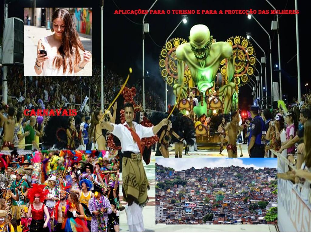 aplicações de tecnologia on-line para o turismo