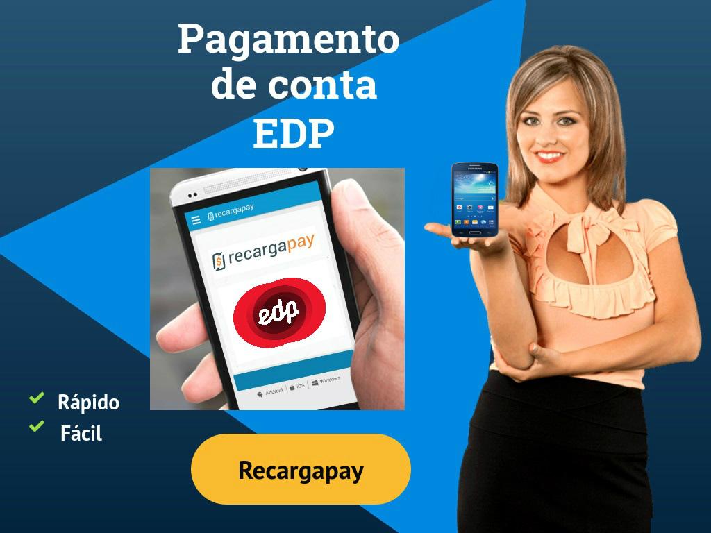 App recargapay Pagamento da EDP Conta
