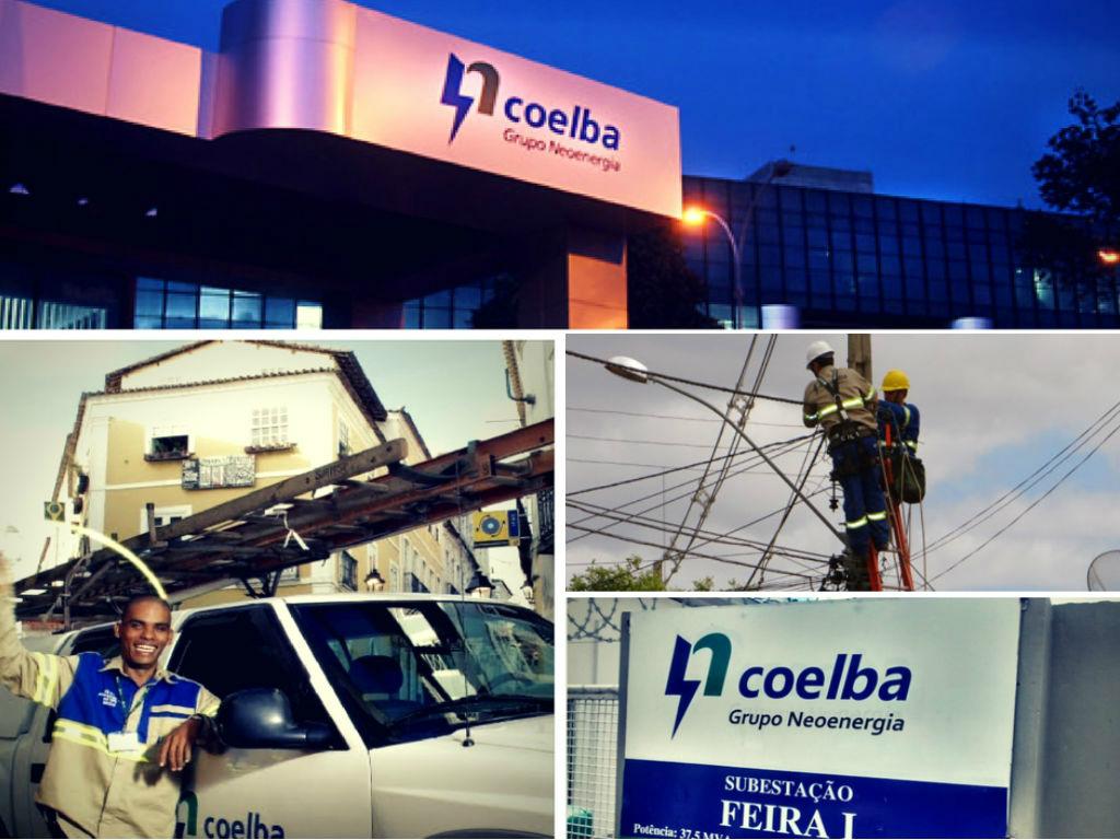 energia elétrica Coelba no estado da bahia
