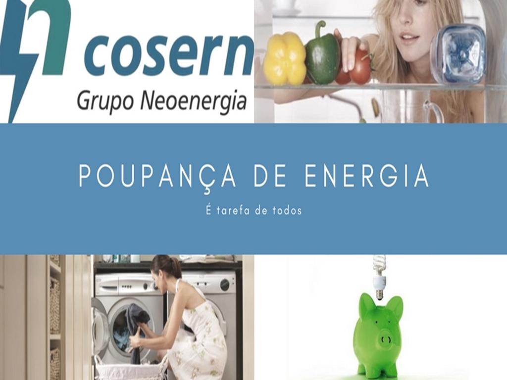 Dicas para uso eficiente de energia elétrica Cosern
