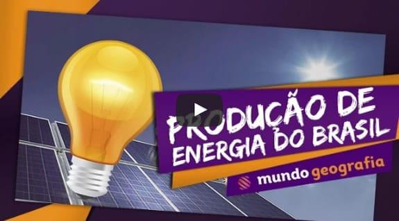 Produção de Energia do Brasil