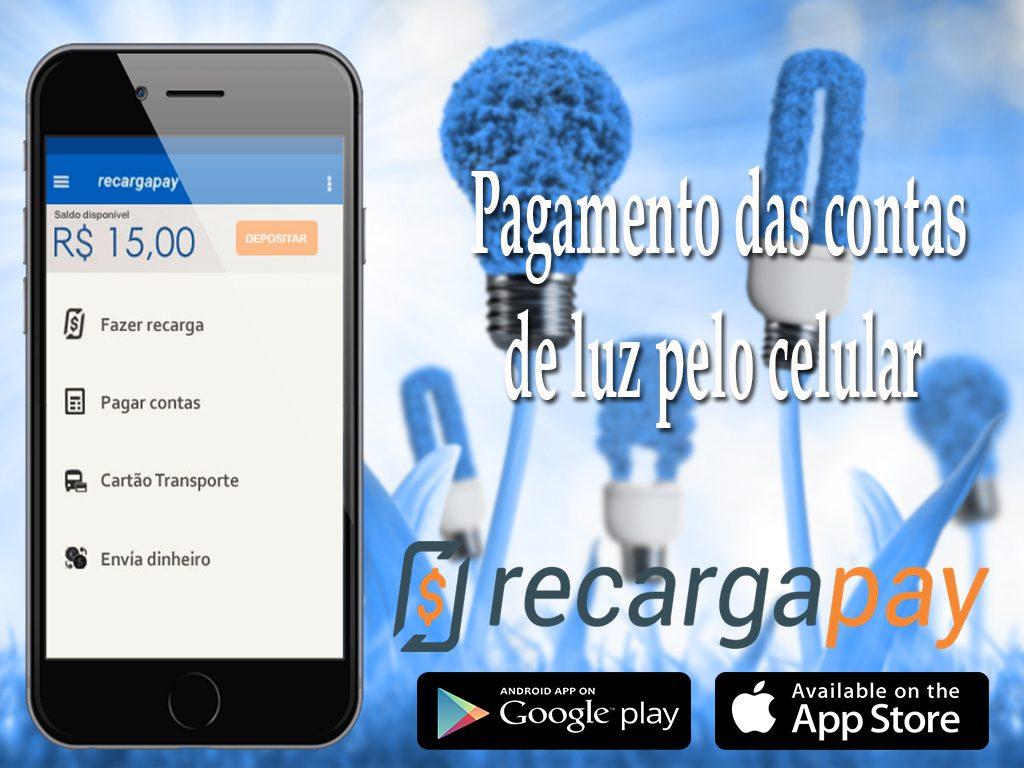 Com este aplicativo poderá pagar sua conta de luz pelo celular de uma forma rapida e muito facil