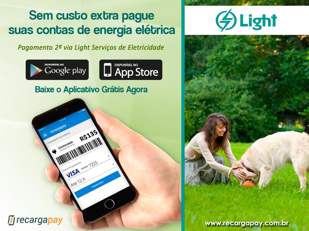 Pague sua conta de energia elétrica Light serviços de Eletricidade
