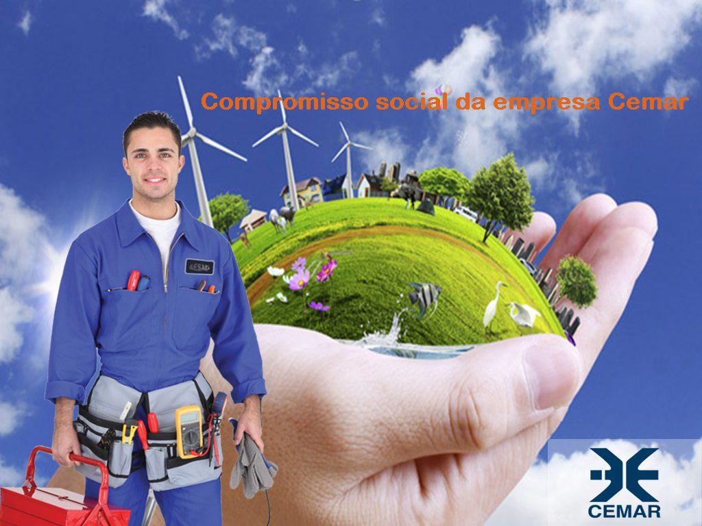 compromisso social da empresa de energia Elétrica Cemar