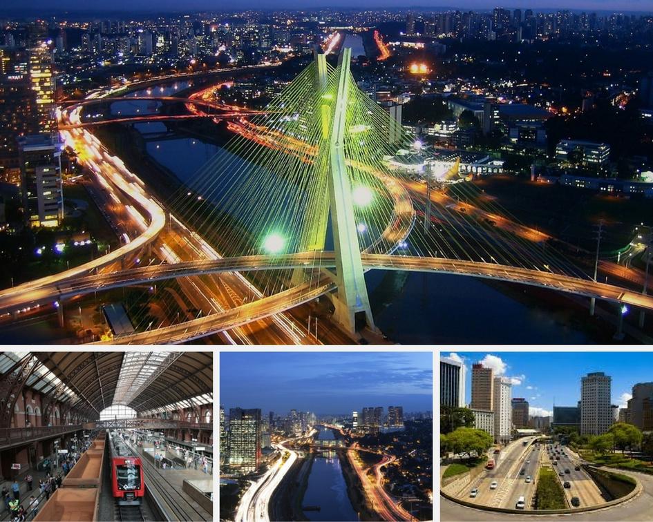 São Paulo a melhor cidade e metropoli de america