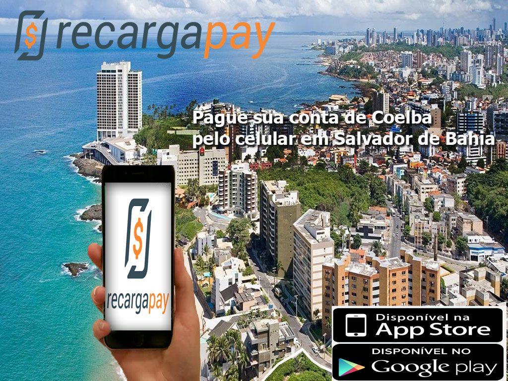 Pague sua conta de Coelba pelo celular em Salvador da Bahia