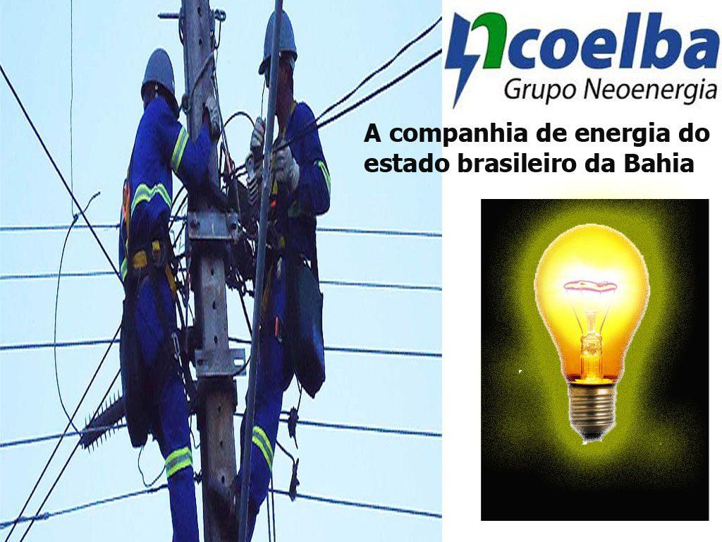 A Companhia de Eletricidade do Estado da Bahia