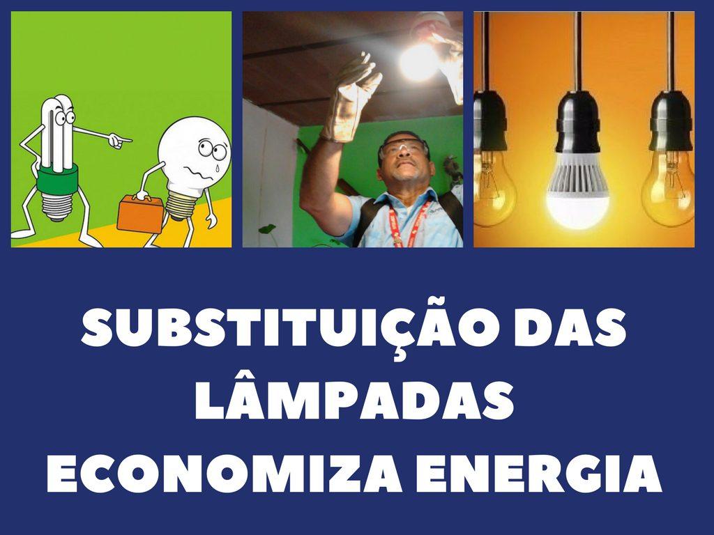 Orojectos comunitário de substitução das lãmpadas para economizar energia em Rio de Janeiro pelo da empresa Light