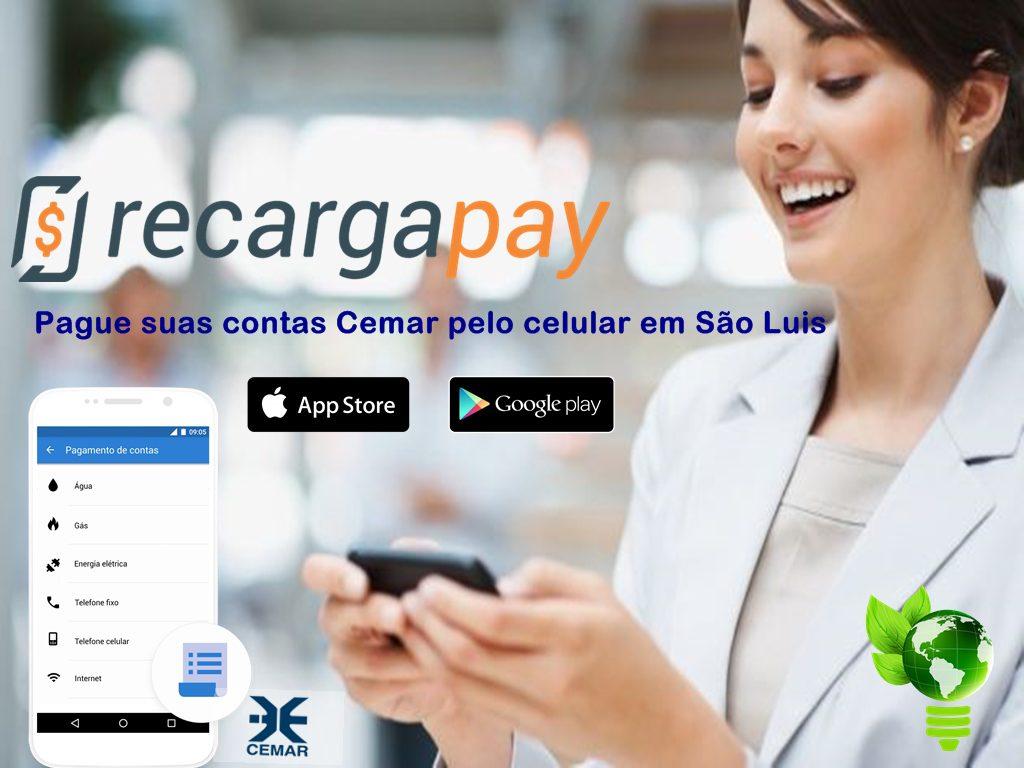Pague suas contas Cemar pelo celular em São Luis