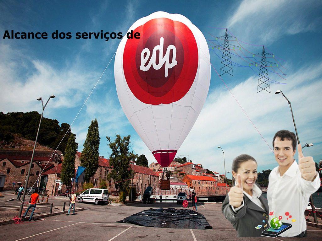 Alcance dos serviços da Companhia de eletricidade EDP em São Paulo