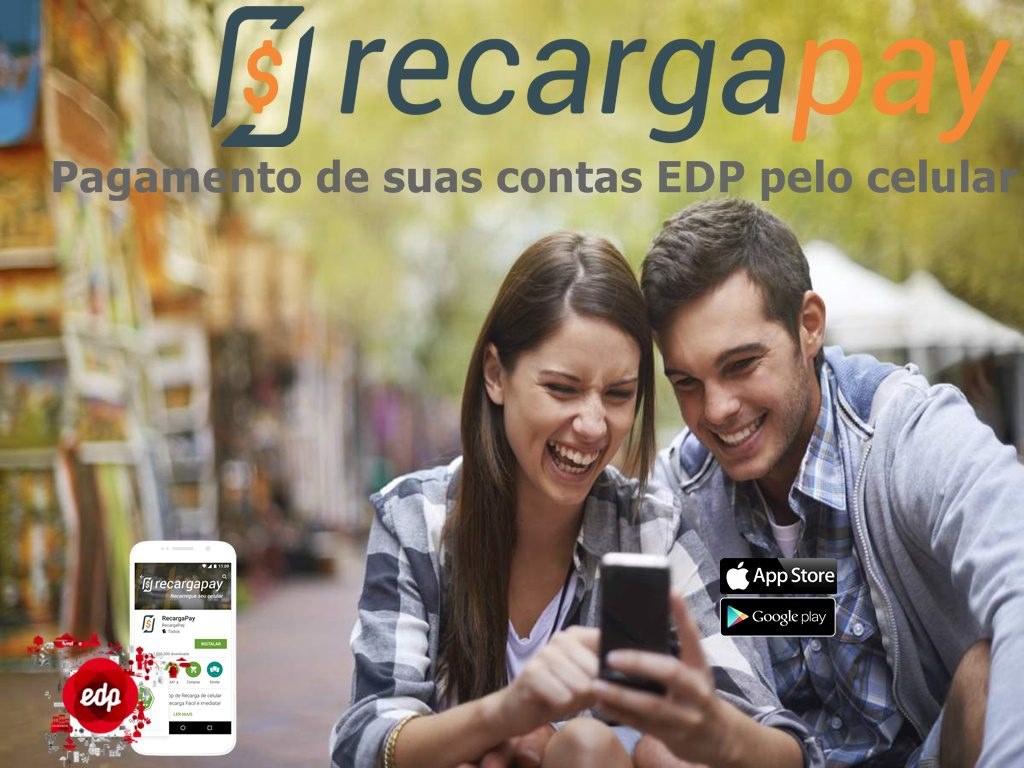 Pagamento de sua conta de energia EDP pelo celular com Recargapay