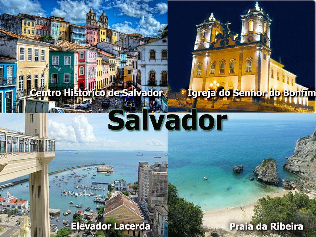 Melhores lugares turísticos da cidade de Salvador de Bahia