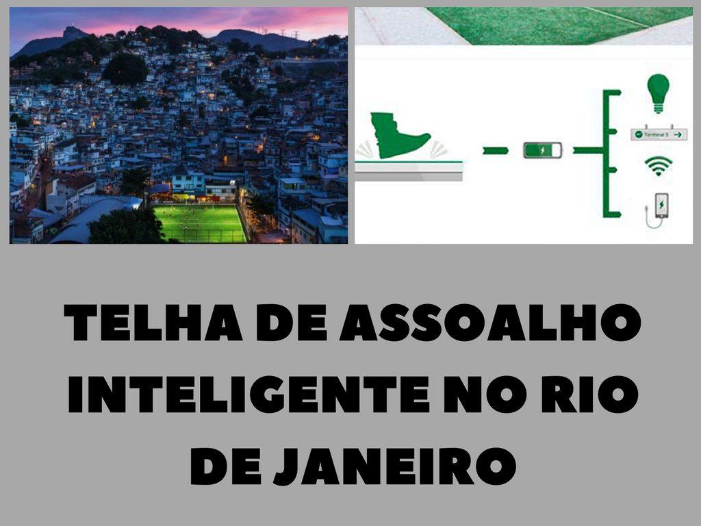 Telha de assoalho inteligente para caminhar e gerar electricidade em Rio de Janeiro