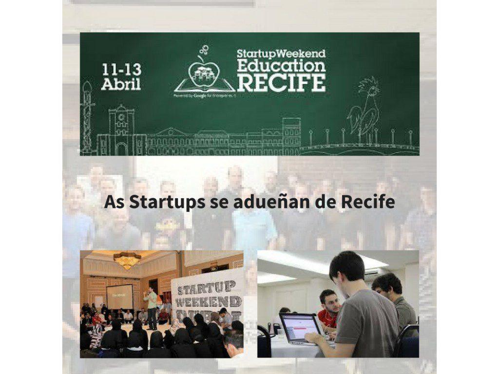 Recife, a cidade das startups.