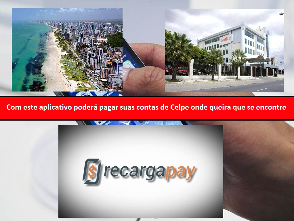 Pague sua conta Celpe desde qualquer lugar do Recife e sem custos adicionais