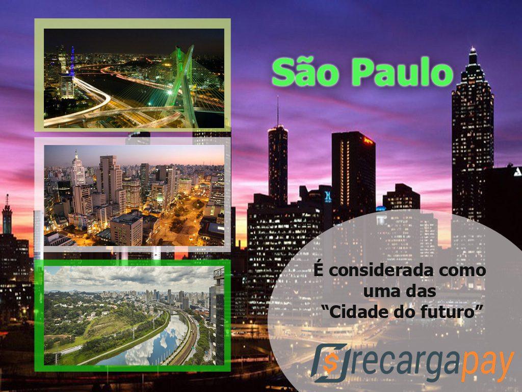São Paulo conhecida como a cidade do futuro