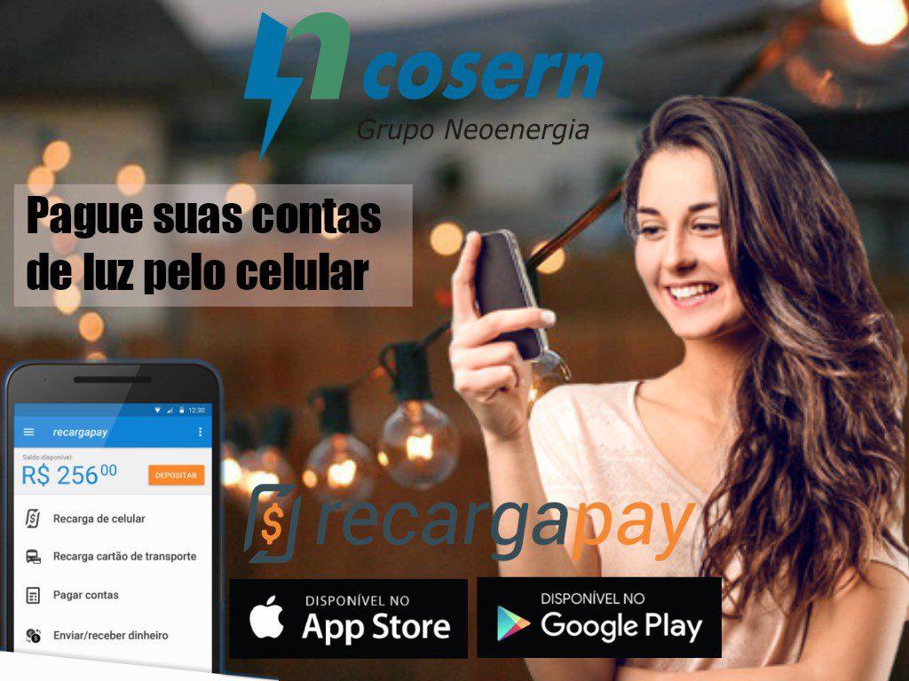 Aplicativo para pagar a 2a via de luz Cosern pelo celular