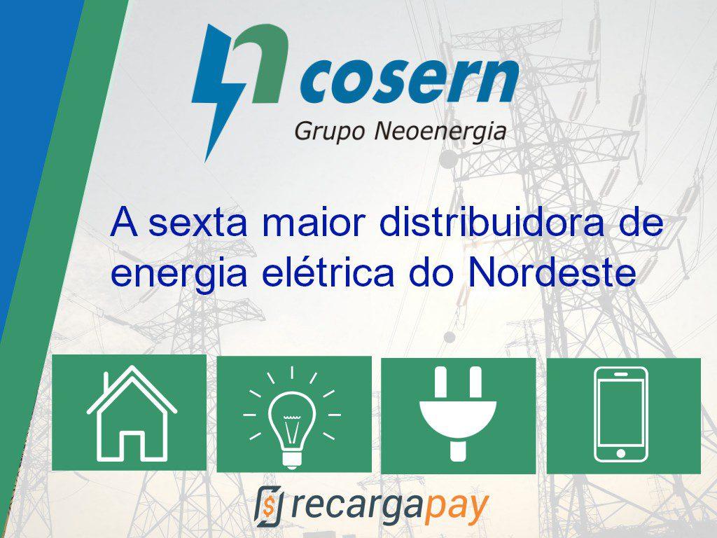 Cosern a 6ta maior empresa de eletricidade de Natal e a região nordeste