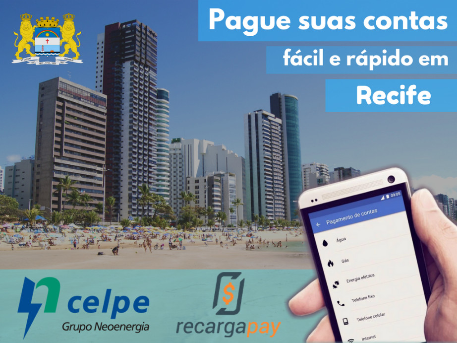 Pague suas contas em Recife