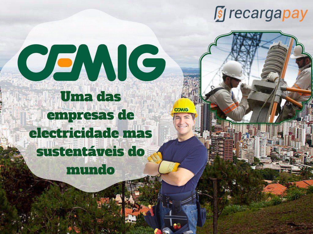 Cemig a maior empresa de eletricidade de Minas Gerais