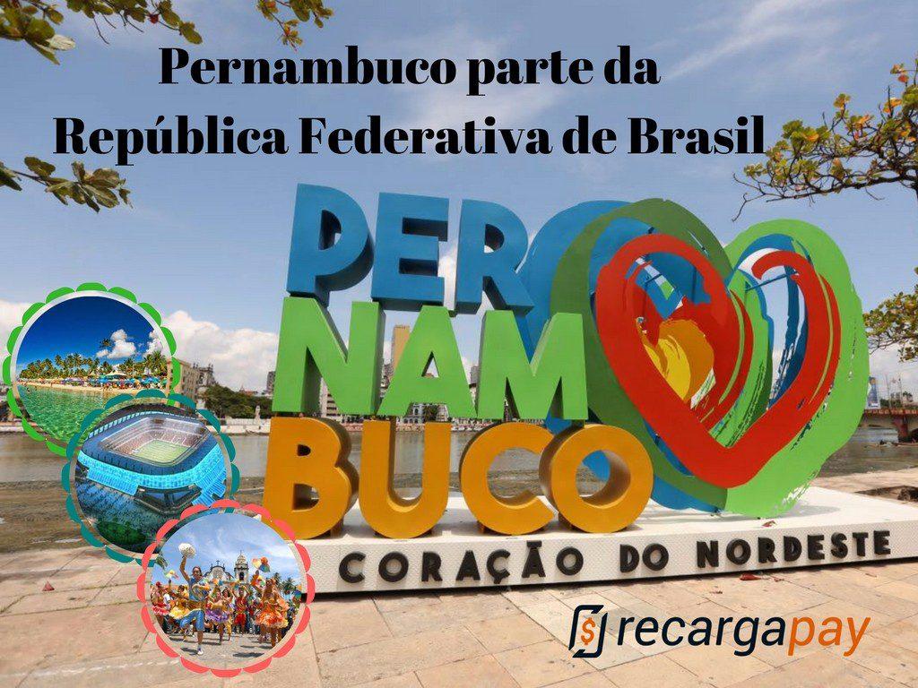 Pernambuco um estado que oferece formoso paisagens