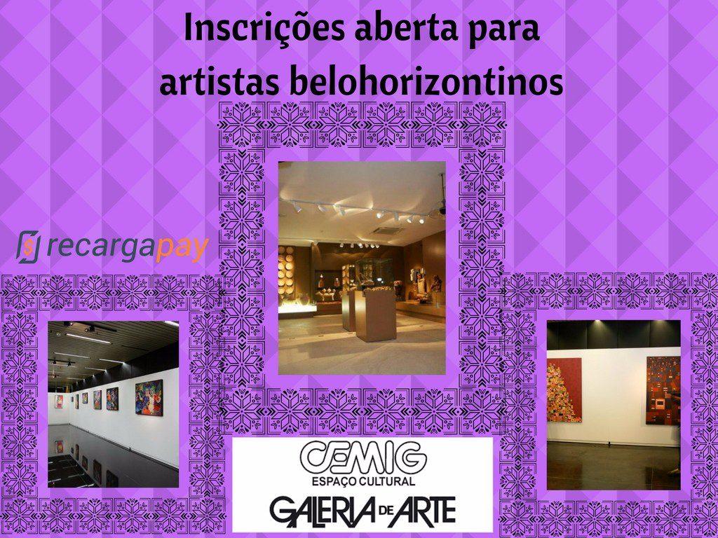 Inscrições aberta para exposição de arte de Cemig em Belo Horizonte