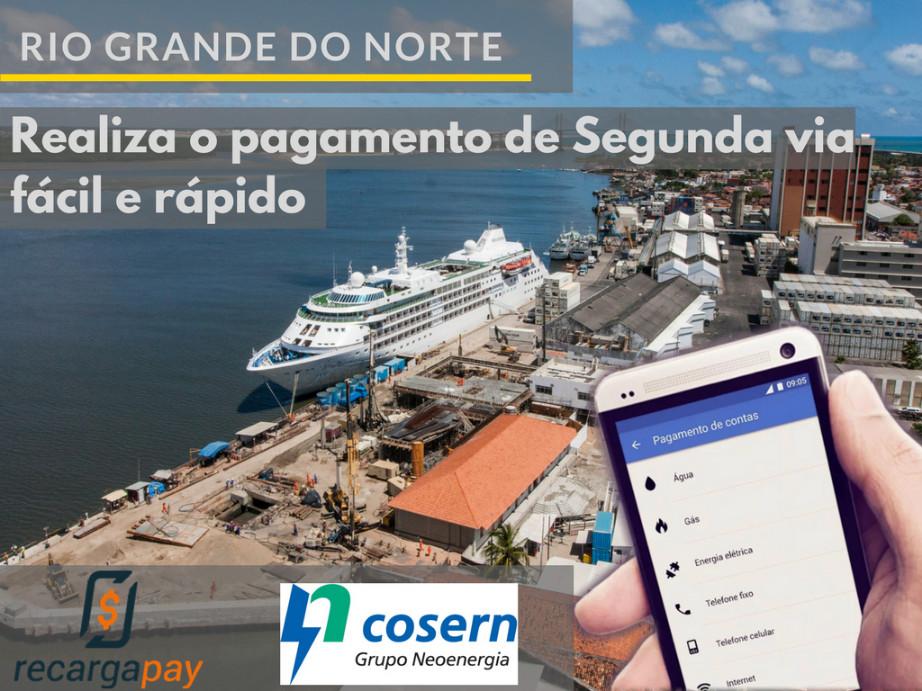 Pague sua conta de segunda via de Cosern em a cidade de Rio Grande do Norte