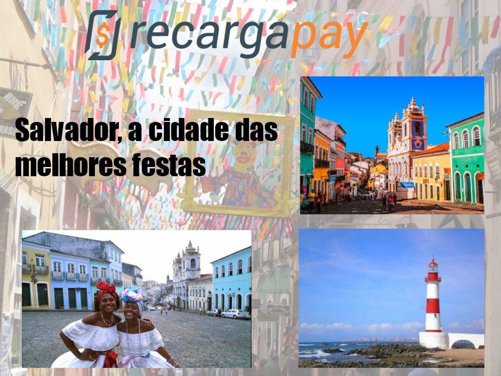 Salvador de Bahia a cidade das melhores festas