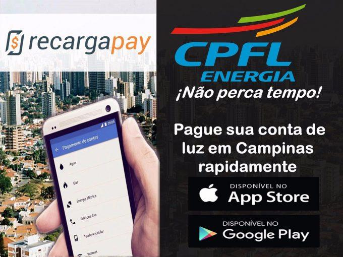 Baixe o aplicativo para pagamento da conta de luz CPFL
