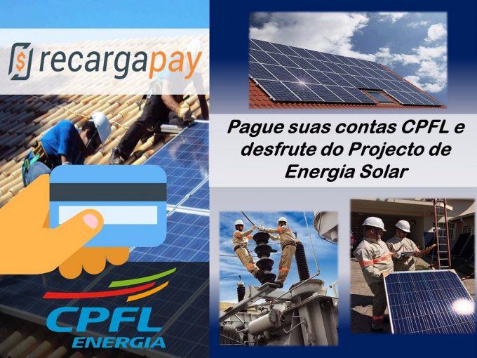 Pague suas contas e desfrute do serviço de energia solar CPFL