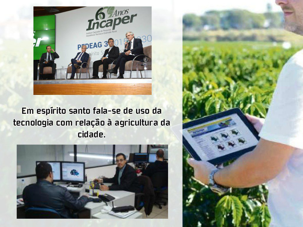 O Evento de tecnologia e Agricultura em Espirito Santo