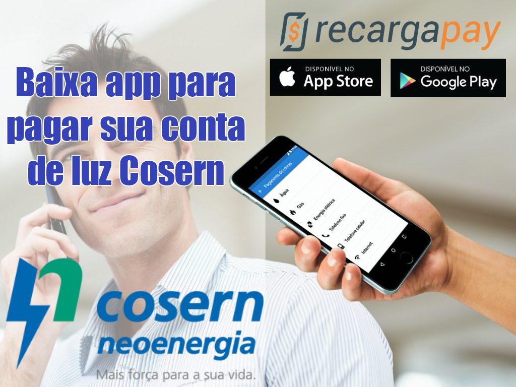 Baixa app para pagar sua conta de luz Cosern