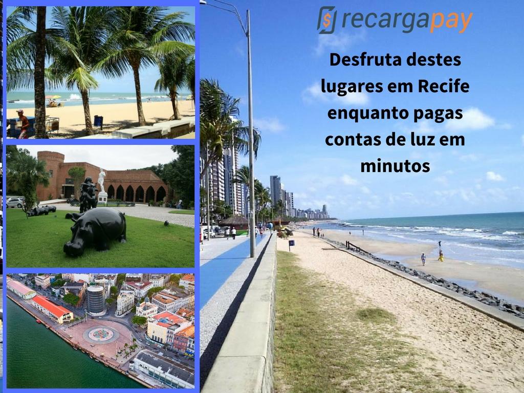 Desfruta destes lugares em Recife