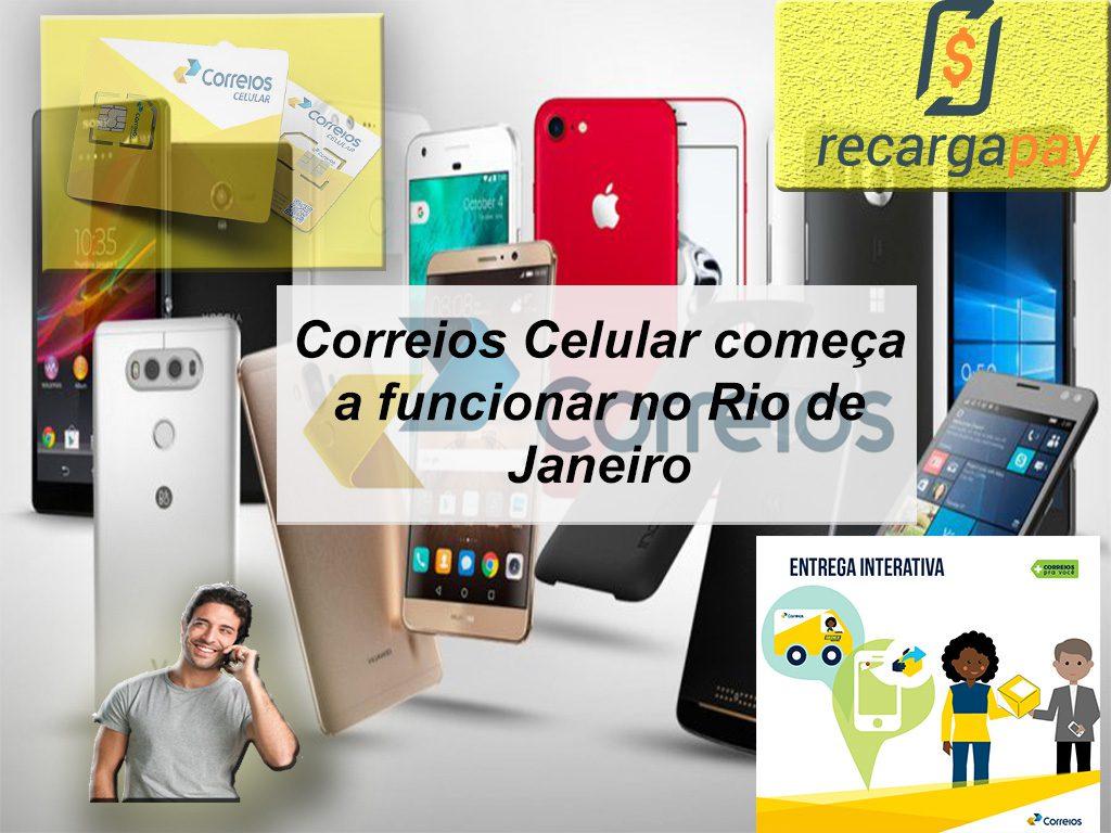 Correios Celular começa a funcionar no Rio de Janeiro