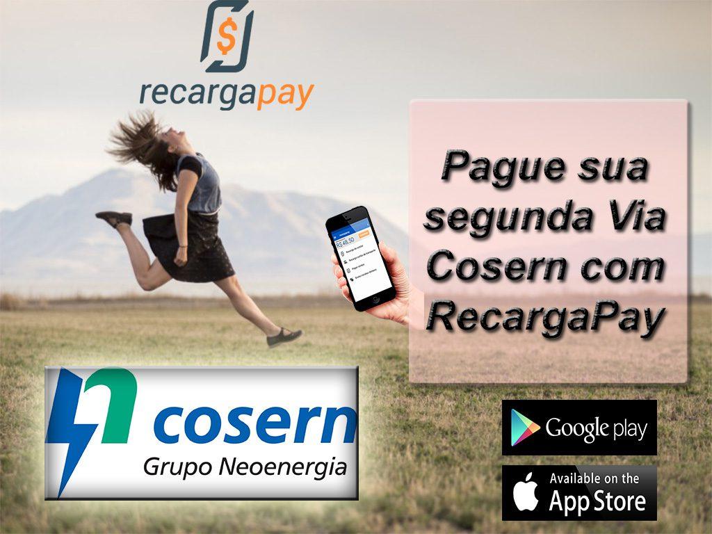 Pague sua segunda Via Cosern com RecargaPay