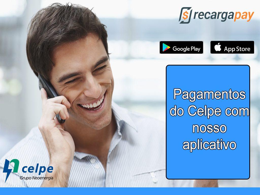 Pagamento Celpe com nosso aplicativo