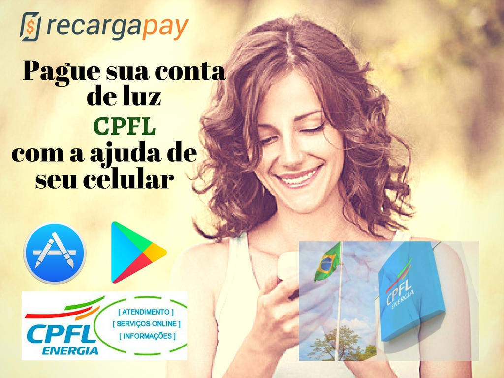 Aplicativo Recargapay para pagamento de luz pelo celular