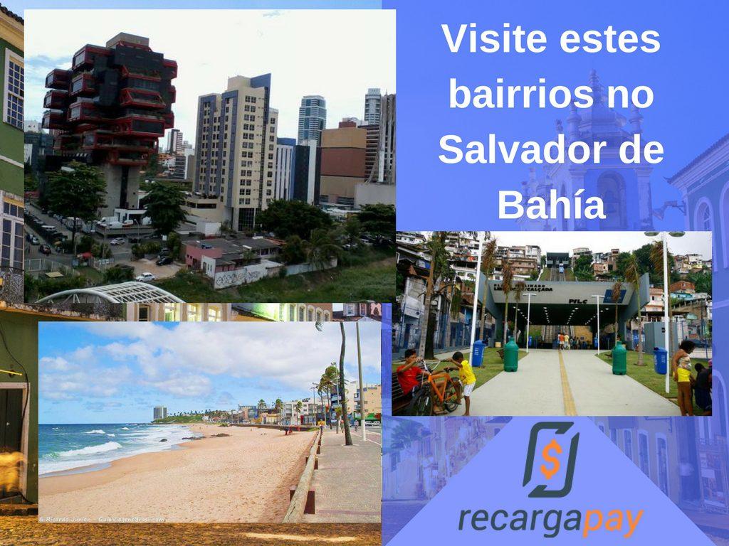 Bairrios em Salvador de Bahia