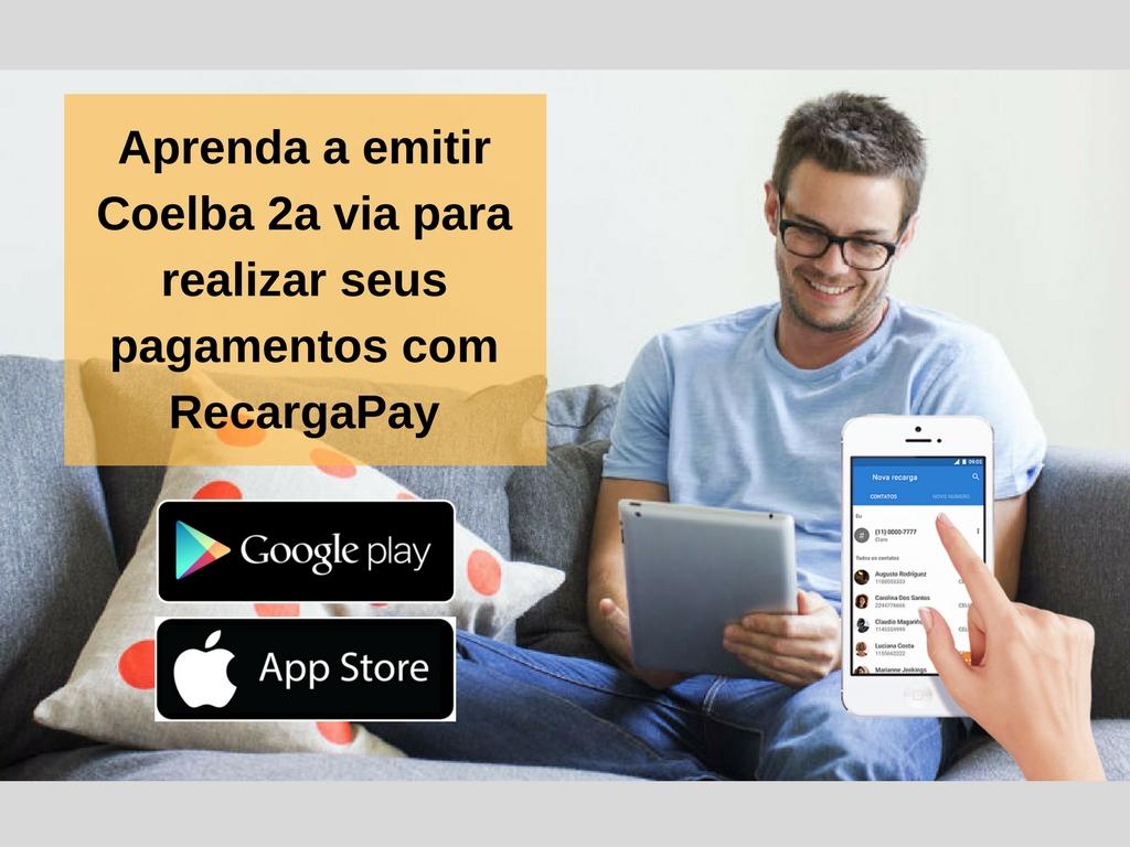 Aprenda a emitir Coelba 2a via com RecargaPay