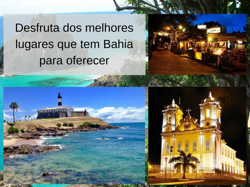 Melhores lugares que tem Bahia