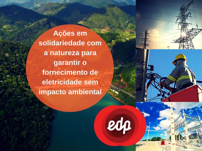 EDP é responsável com a natureza