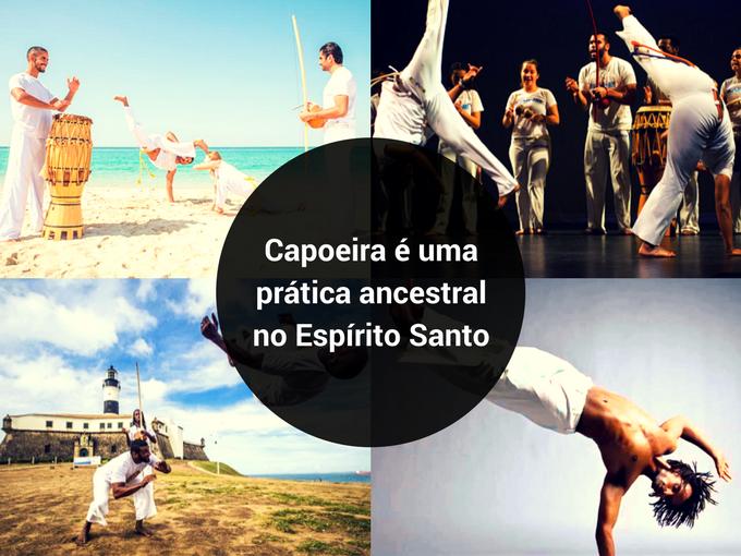Capoeira é uma prática no Espírito Santo