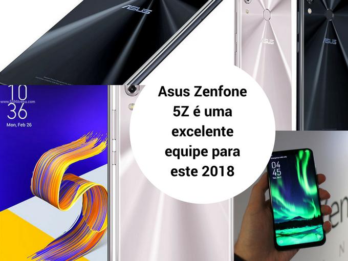 Asus Zenfone 5Z com toda a tecnologia móvel