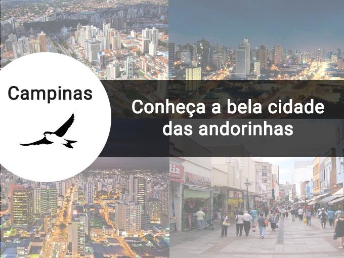 Conheça a bela cidade de Campinas