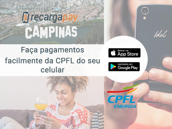 Faça todos os pagamentos CPFL com Recargapay
