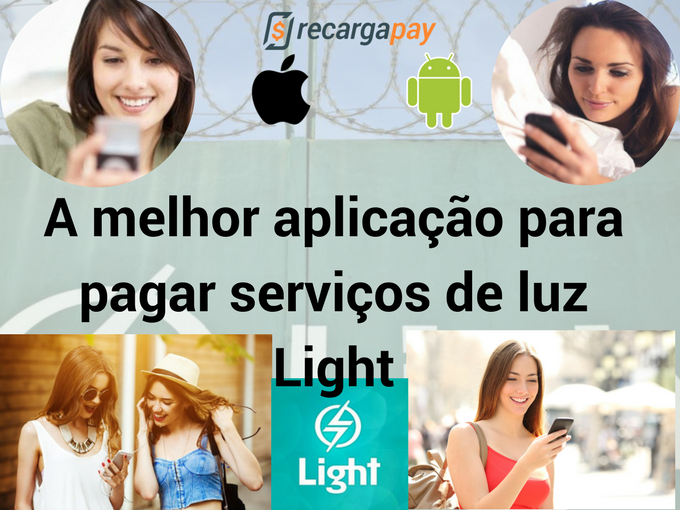 Com Recargapay é muito fácil pagar conta Light