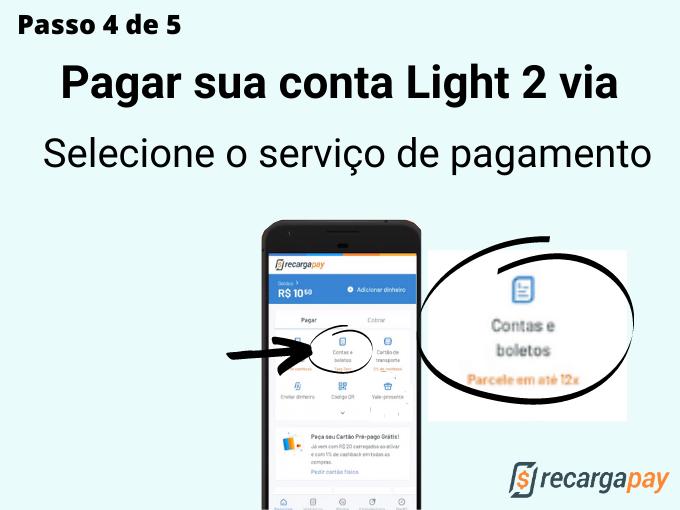 Passo 4 de 5 para pagar sua conta Light (2)